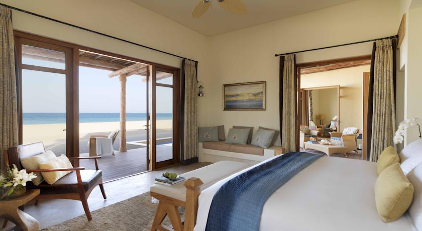 Hotel with private pool - Anantara Sir Bani Yas Island Al Yamm Villa Resort
