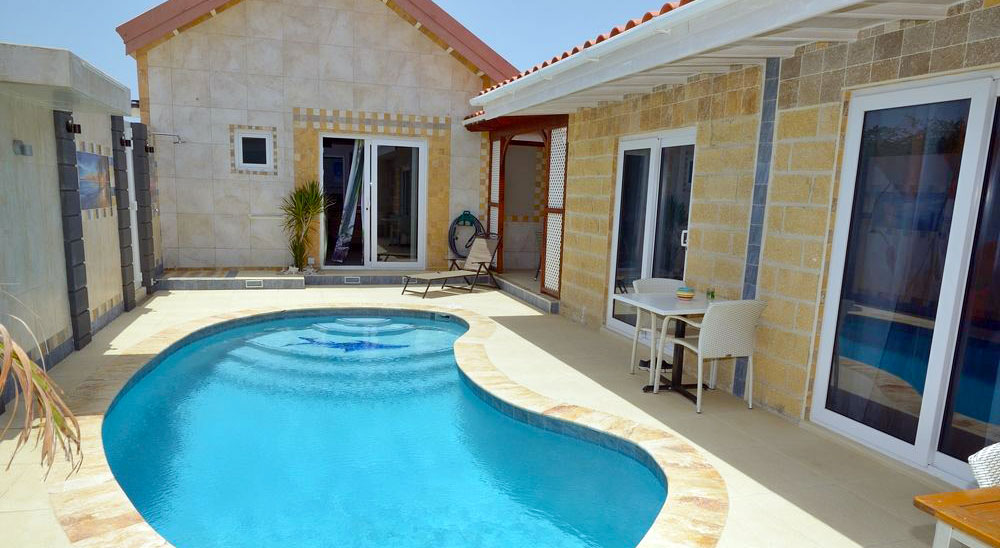 Hotel with private pool - Swiss Paradise Aruba Villas and Suites