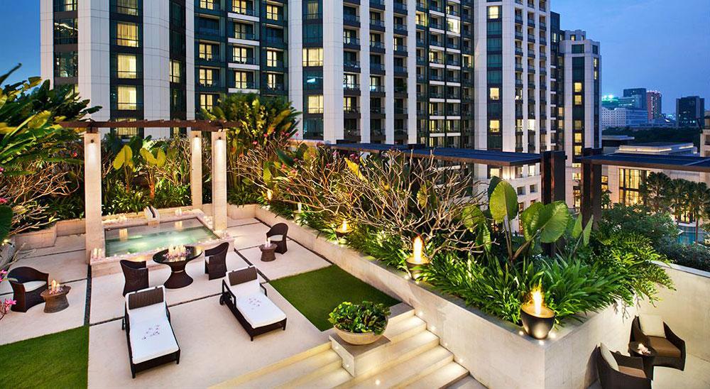 Hotel with private pool - Siam Kempinski Hotel Bangkok