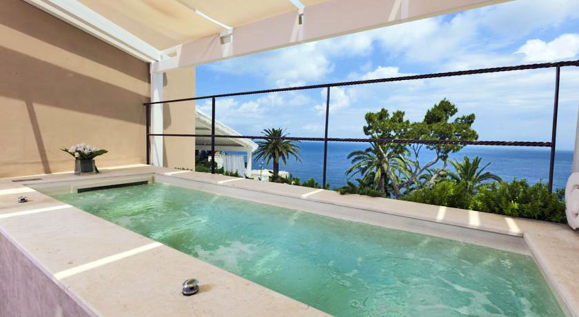 Hotel With Private Pool Villa Marina Capri Spa
