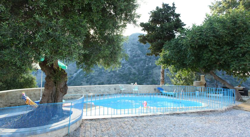 Hotel with private pool - Villa Athina