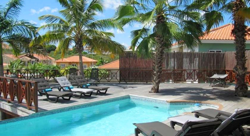 Hotel with private pool - Villa Caribbean Paradise