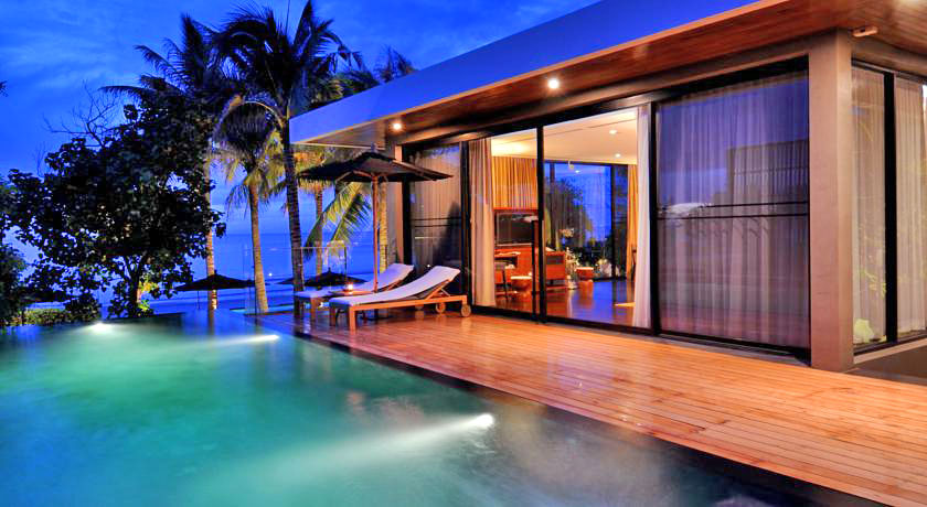 luxury hotel with private pool villas v villas hua hin. Black Bedroom Furniture Sets. Home Design Ideas