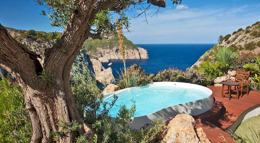 Hotel with private pool - Hotel Hacienda Na Xamena