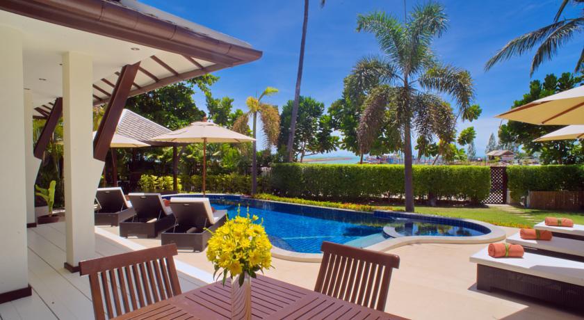 Luxury hotel with private pool villas bahari private for Koh tao cabana koi pool villa