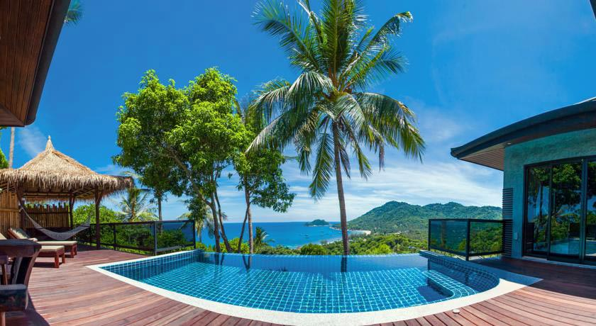 Hotel with private pool - Koh Tao Heights Pool Villas
