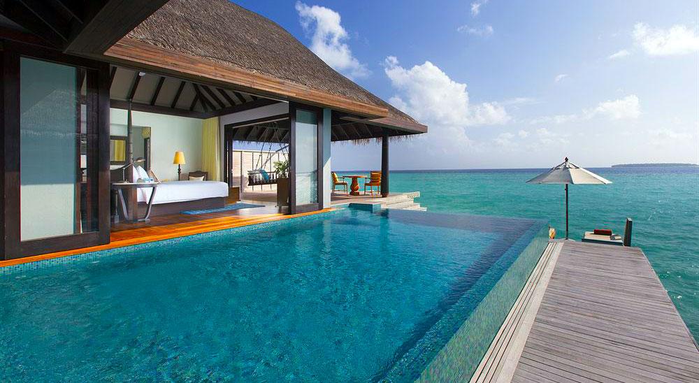Hotel With Private Pool Anantara Kihavah Maldives Villas