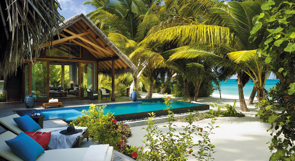 Hotel with private pool - Shangri-La's Villingili Resort and Spa, Maldives