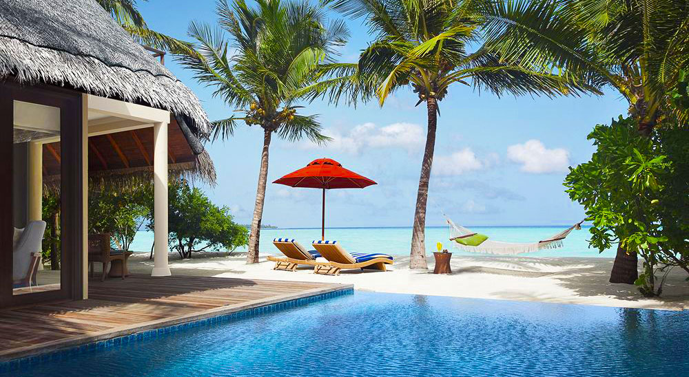 Luxury hotel with private pool villas suites taj for Exclusive luxury accommodation