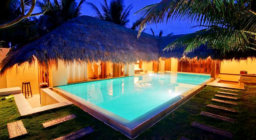 Hotel with private pool - Green Organic Villas