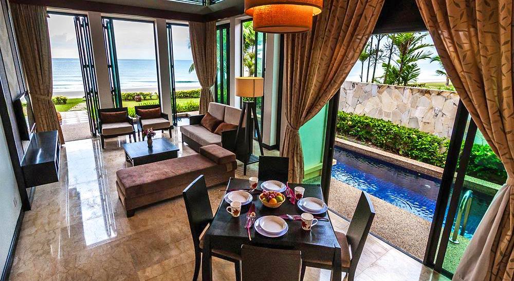 Hotel With Private Pool Borneo Beach Villas