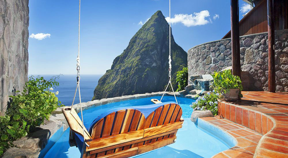 Hotel with private pool - Ladera Resort