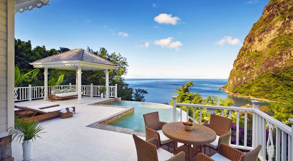 Hotel with private pool - Sugar Beach, A Viceroy Resort