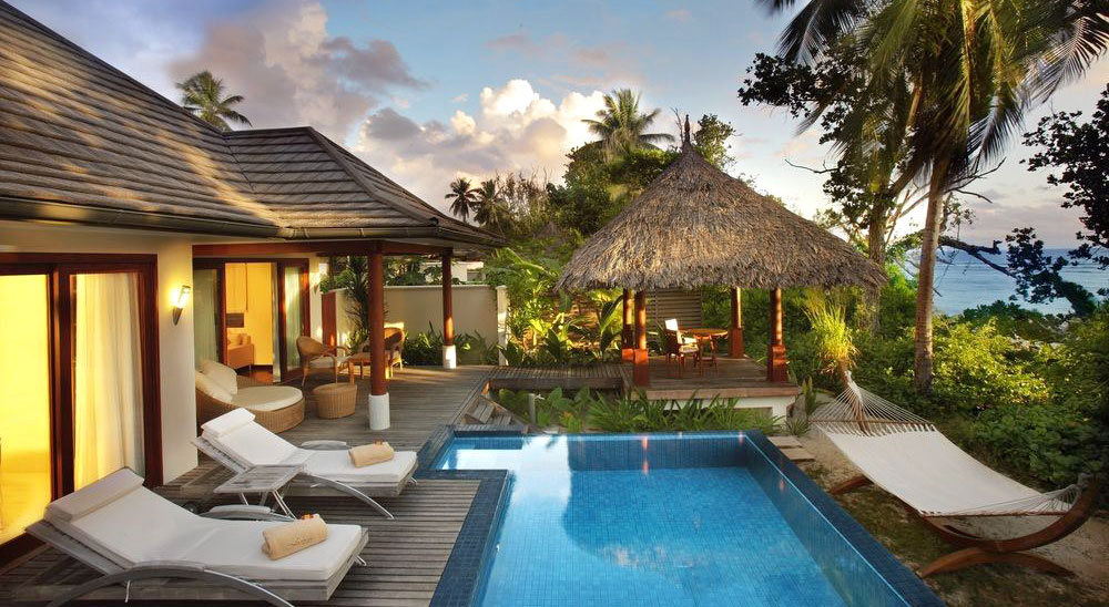 Hotel with private pool - Hilton Seychelles Labriz Resort & Spa
