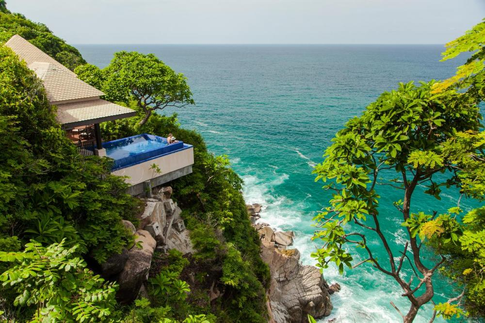 Hotel with private pool - Banyan Tree Cabo Marques