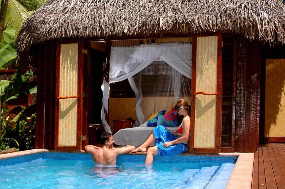 Hotel with private pool - Aitutaki Lagoon Private Island Resort (Adults Only)