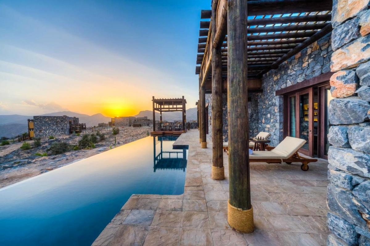 Hotel with private pool - Alila Jabal Akhdar