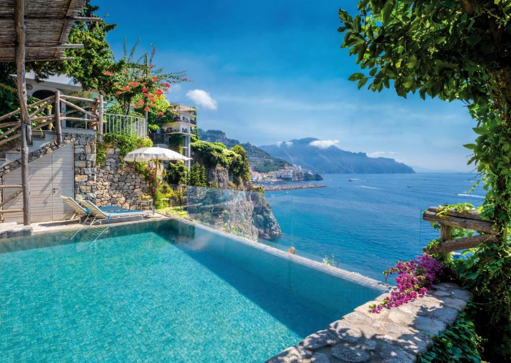 Hotel with private pool - Hotel Santa Caterina