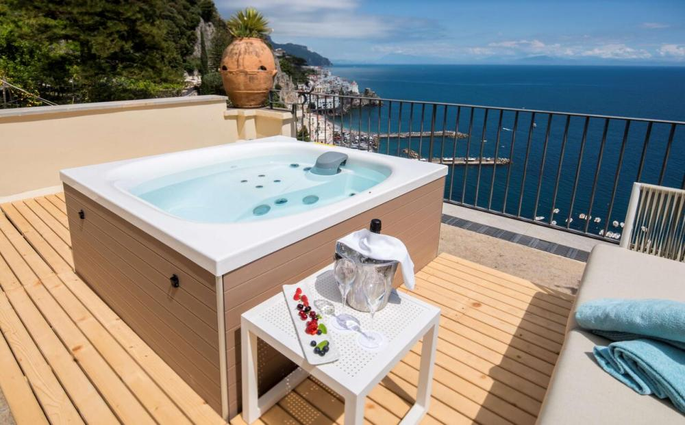 Hotel with private pool - NH Collection Grand Hotel Convento di Amalfi