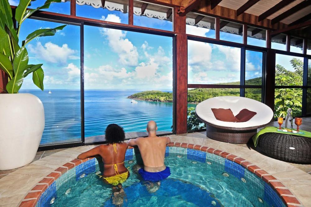 Hotel with private pool - Ti Kaye Resort & Spa