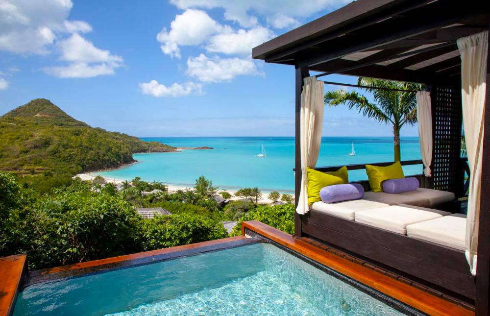 Hotel with private pool - Hermitage Bay - All Inclusive