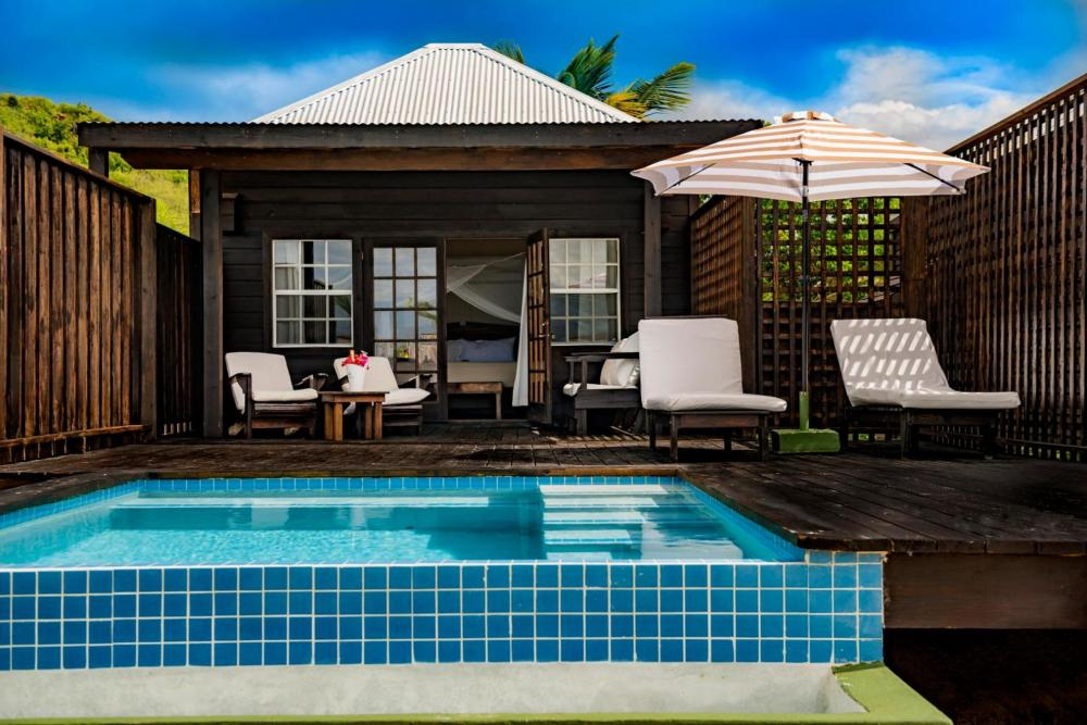 Hotel with private pool - Keyonna Beach Resort Antigua -All Inclusive