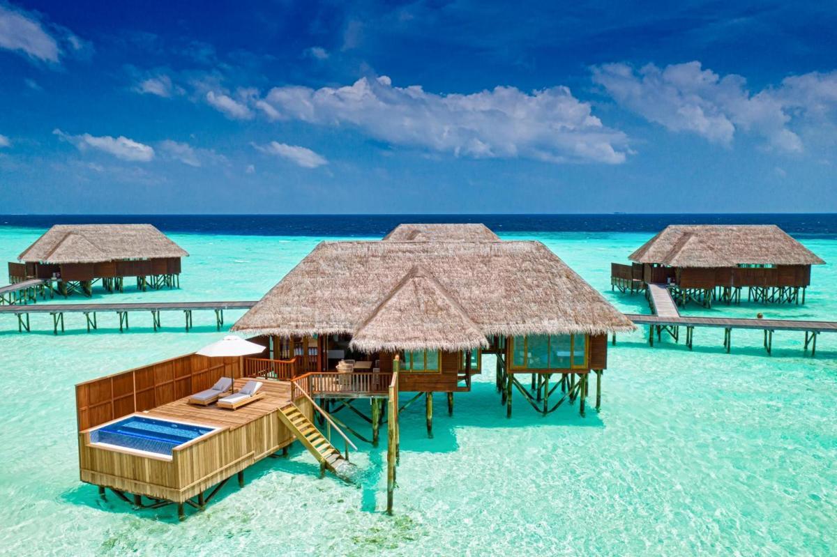 Hotel with private pool - Conrad Maldives Rangali Island