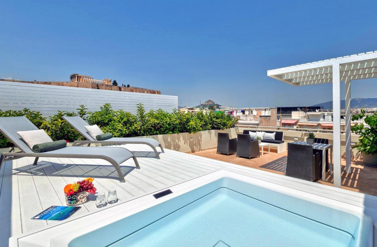 Hotel with private pool - Divani Palace Acropolis