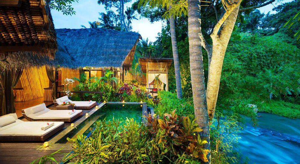 Hotel with private pool - Fivelements Puri Ahimsa Retreat