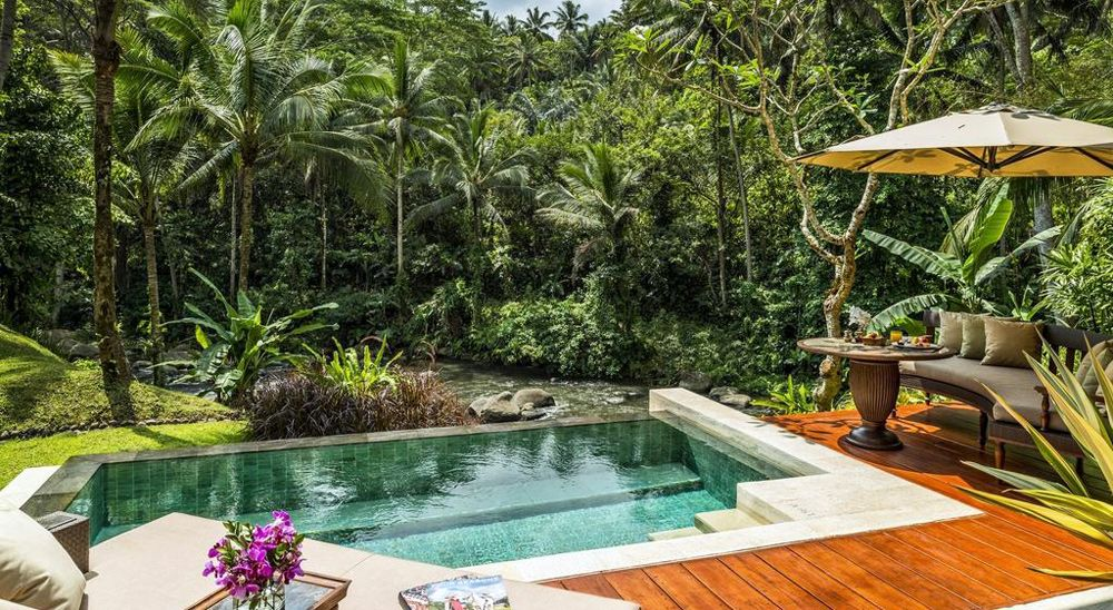 Hotel with private pool - Four Seasons Resort Bali at Sayan