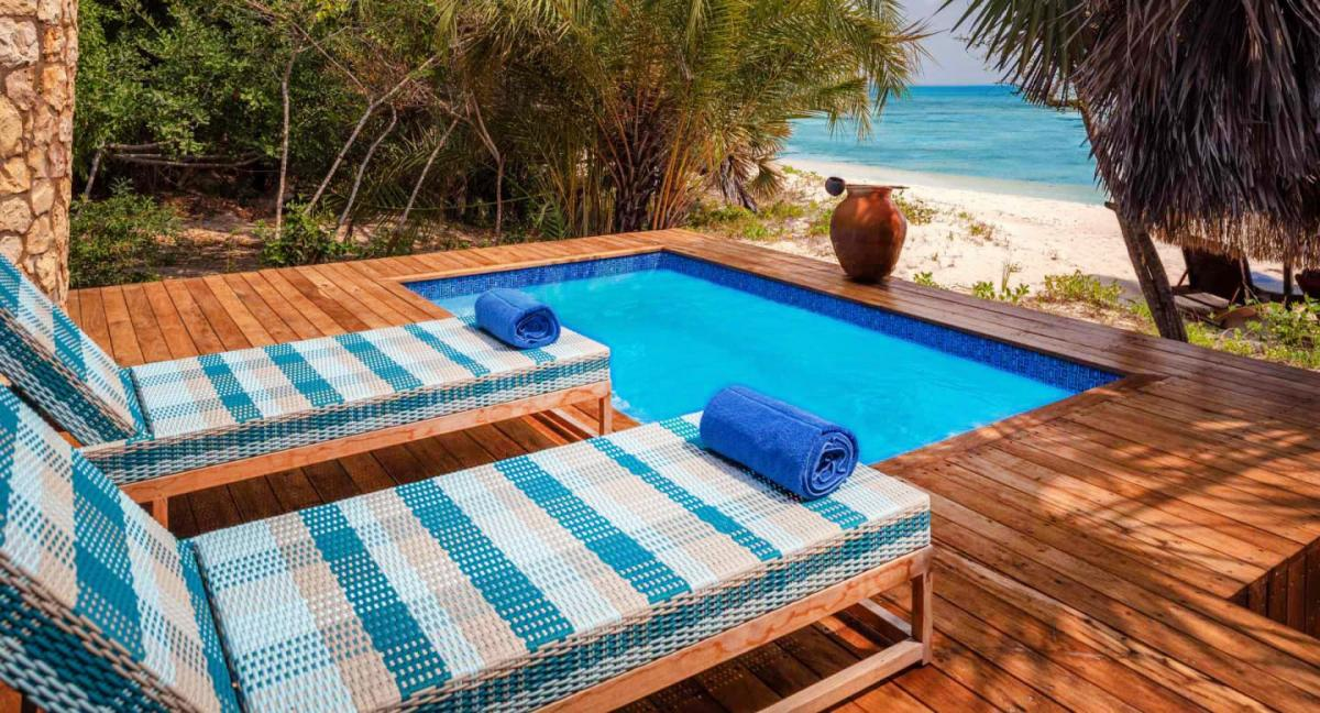 Hotel with private pool - Anantara Bazaruto Island Resort
