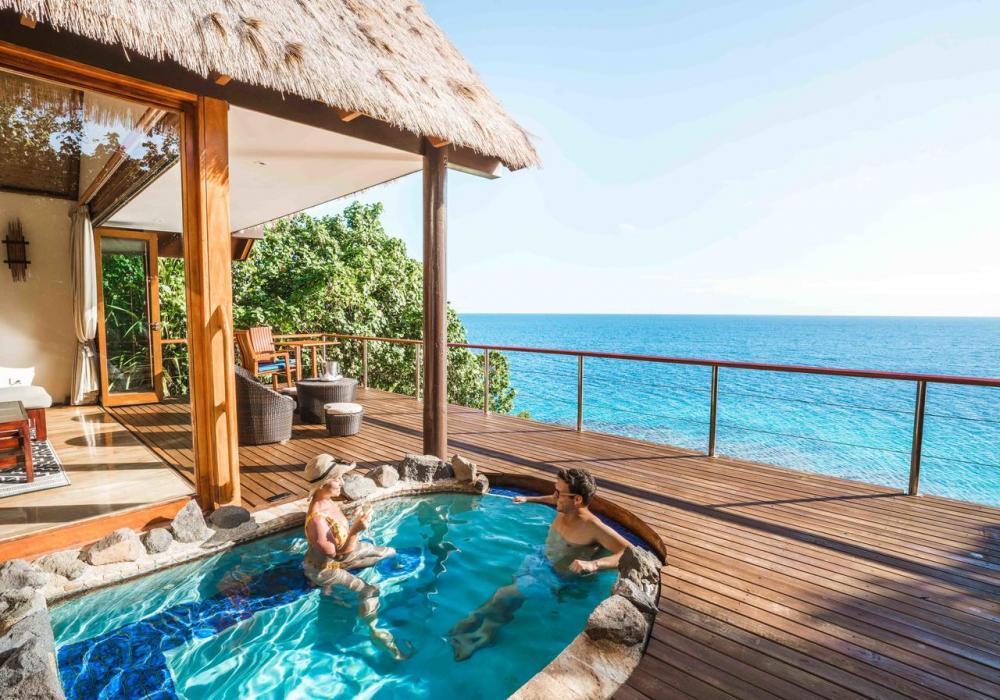 Hotel with private pool - Royal Davui Island Resort, Fiji