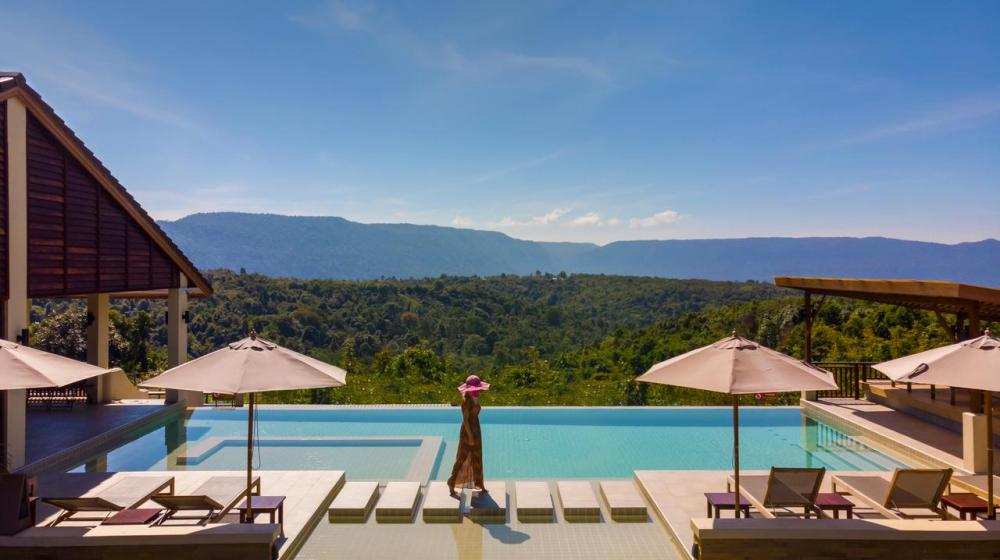 Hotel with private pool - Sabaidee Valley