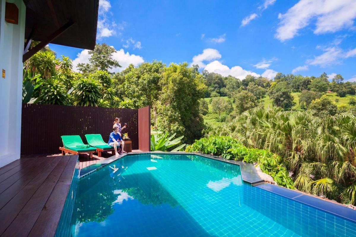 Hotel with private pool - Panviman Chiang Mai Spa Resort