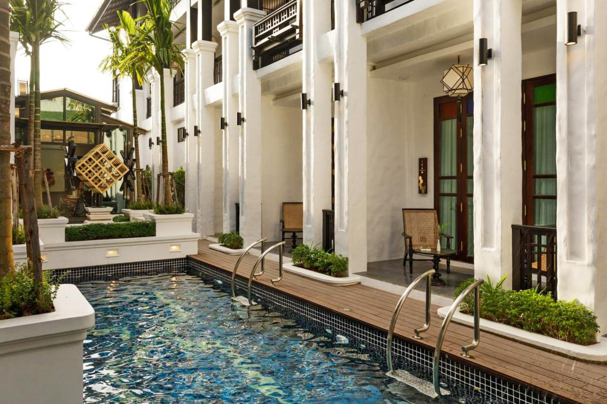 Hotel with private pool - Thai Akara - Lanna Boutique Hotel