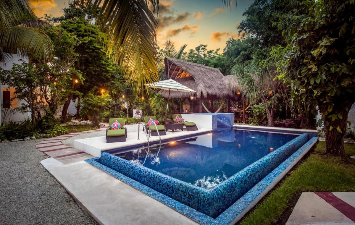 Hotel with private pool - Villas El Encanto Cozumel