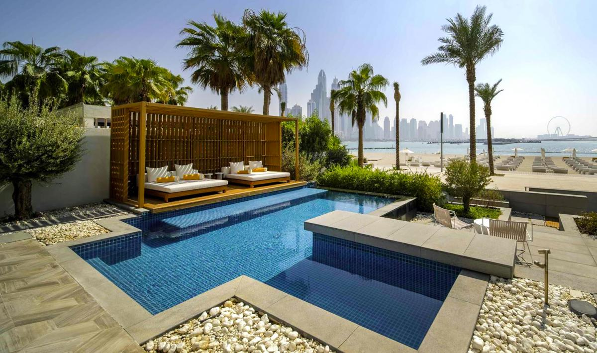 Hotel with private pool - Five Palm Jumeirah Dubai