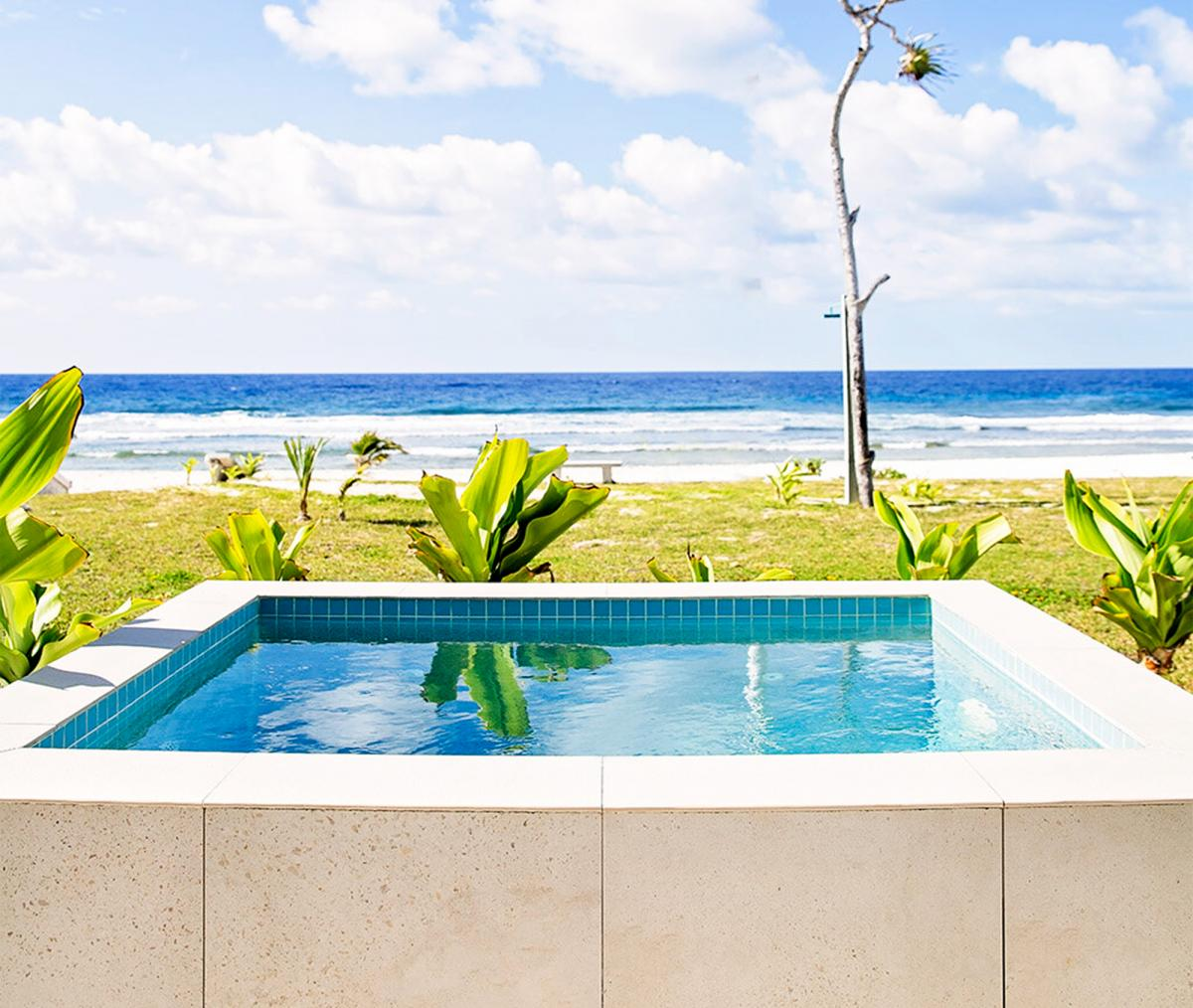 Hotel with private pool - Tamanu on the Beach