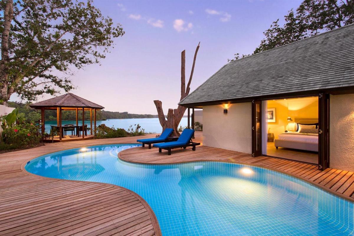 Hotel with private pool - Warwick Le Lagon Resort & Spa, Vanuatu