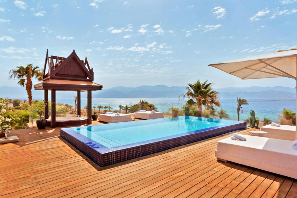 Hotel with private pool - Orchid Eilat Hotel