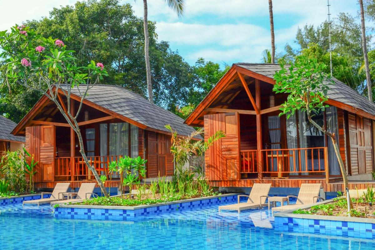 Hotel with private pool - Gili Air Lagoon Resort