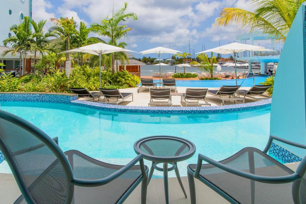 Hotel with private pool - Harbor Club St Lucia, Curio Collection by Hilton