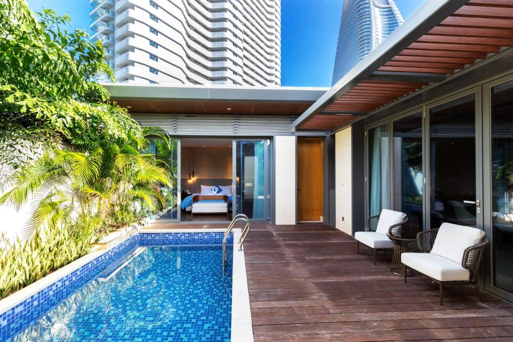 Hotel with private pool - Albion Residence Haitang Bay Sanya