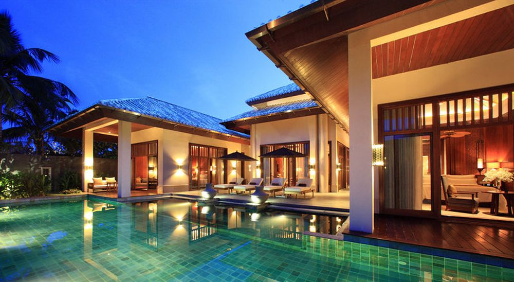 Hotel with private pool - Anantara Sanya Resort & Spa