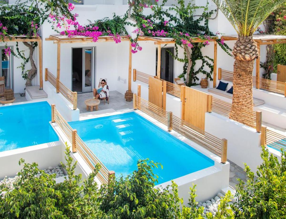 Hotel with private pool - Dionysos Seaside Resort Ios