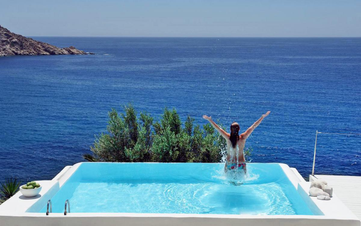 Hotel with private pool - Ios Palace Hotel & Spa