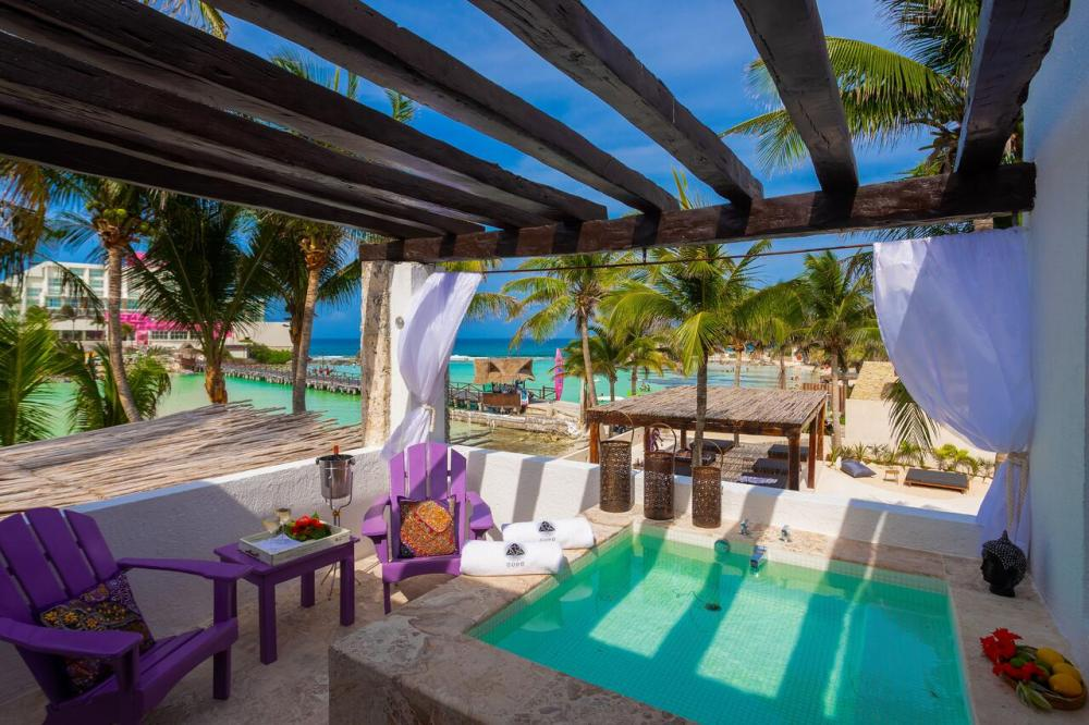 Hotel with private pool - Lotus Beach Hotel - Adults Only