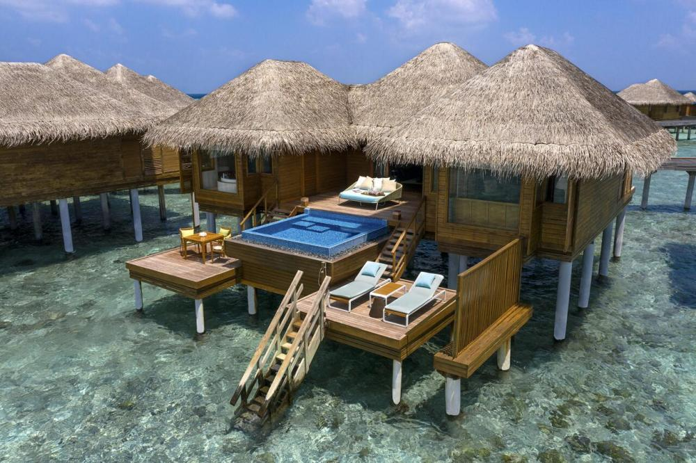 Hotel with private pool - Huvafen Fushi