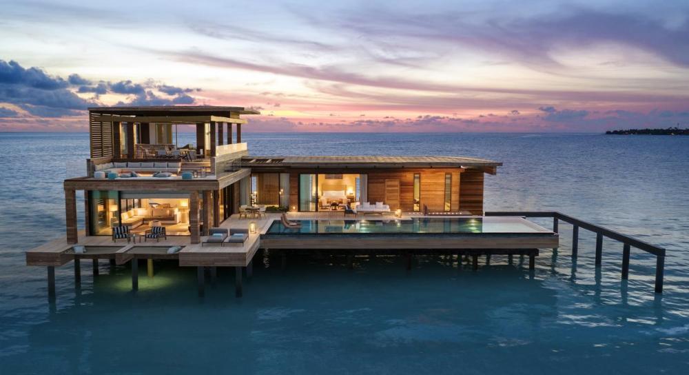 Hotel with private pool - Waldorf Astoria Maldives Ithaafushi