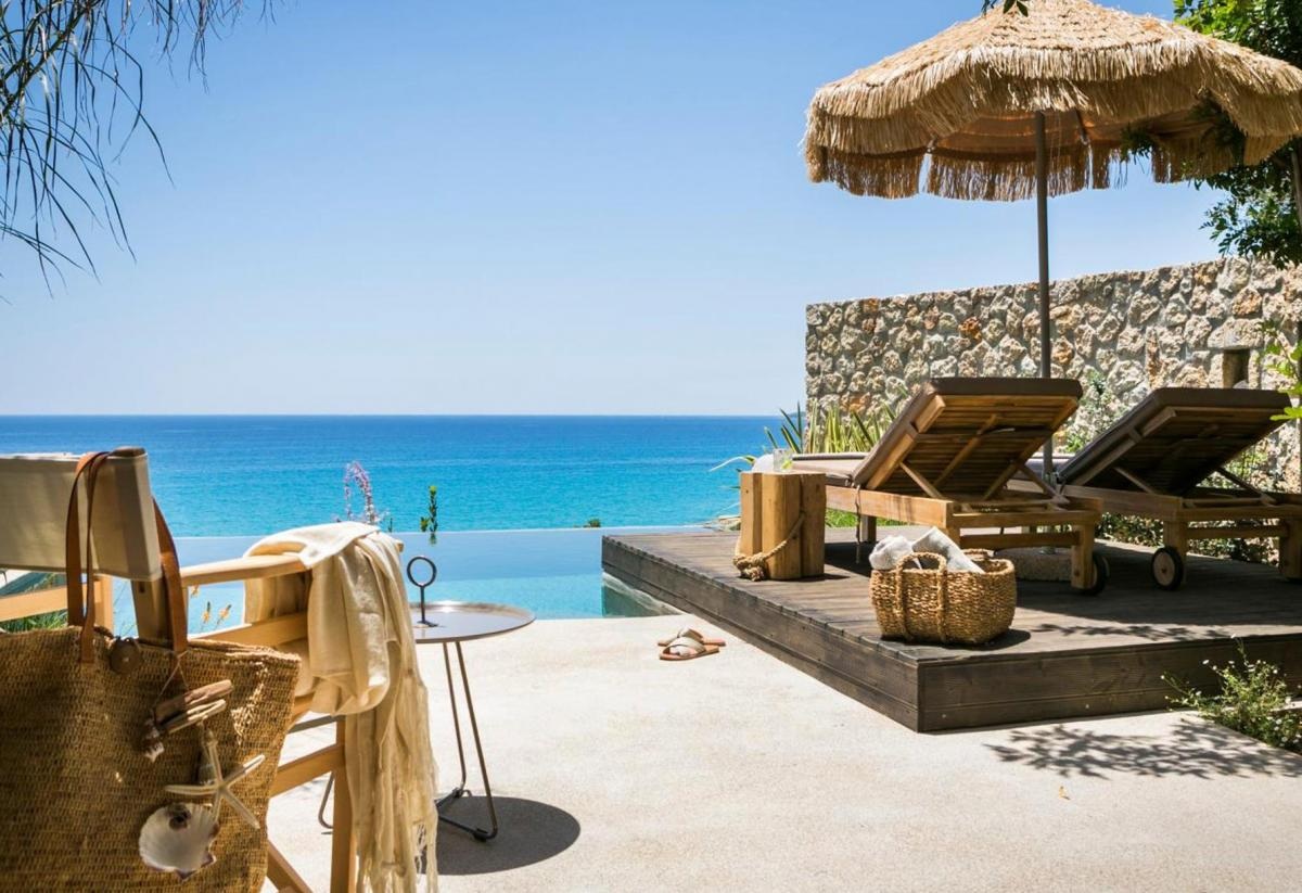Hotel with private pool - F Zeen